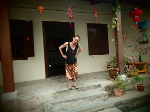 The Host(ess) with the mostest: Joti, my homestay host in Melaka. A senational house in China town and a truly wonderful host.