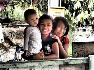Beautiful smiles everywhere in Sumatra