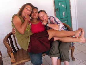 Our local Mama that adopted us and demanded we stay. She gave great hugs!