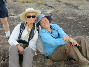 My Mummy and Me at Katherine Gorge. Love a rest day!