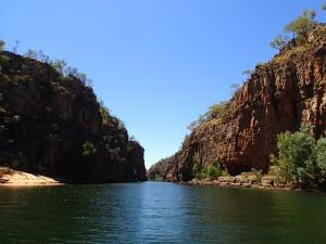 Katherine Gorge. Takes your breath away with the beauty.