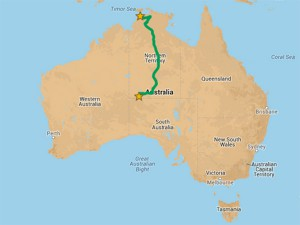 2,200km of outback Australia